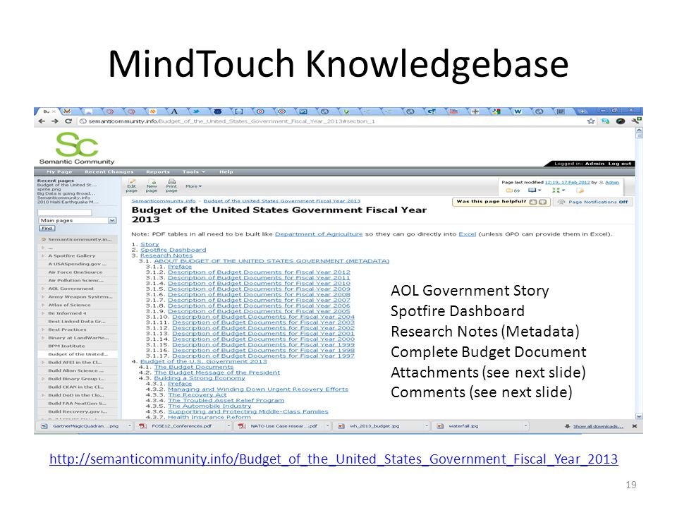 MindTouch Knowledgebase