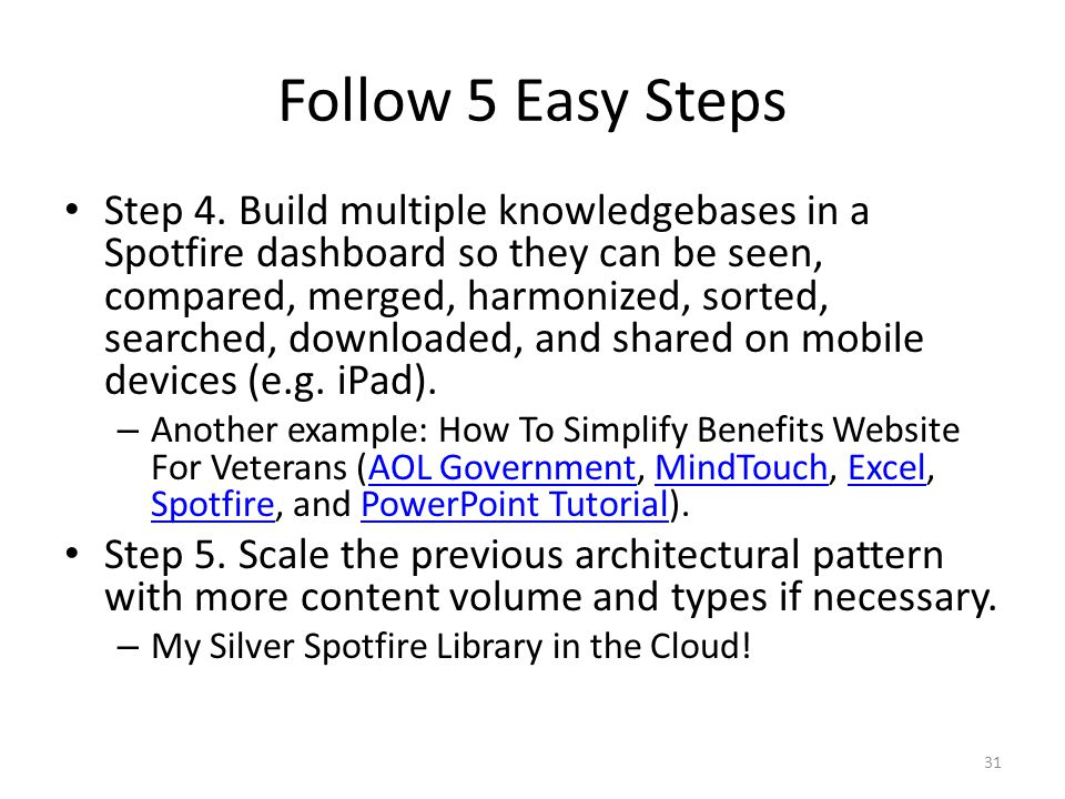 Follow 5 Easy Steps