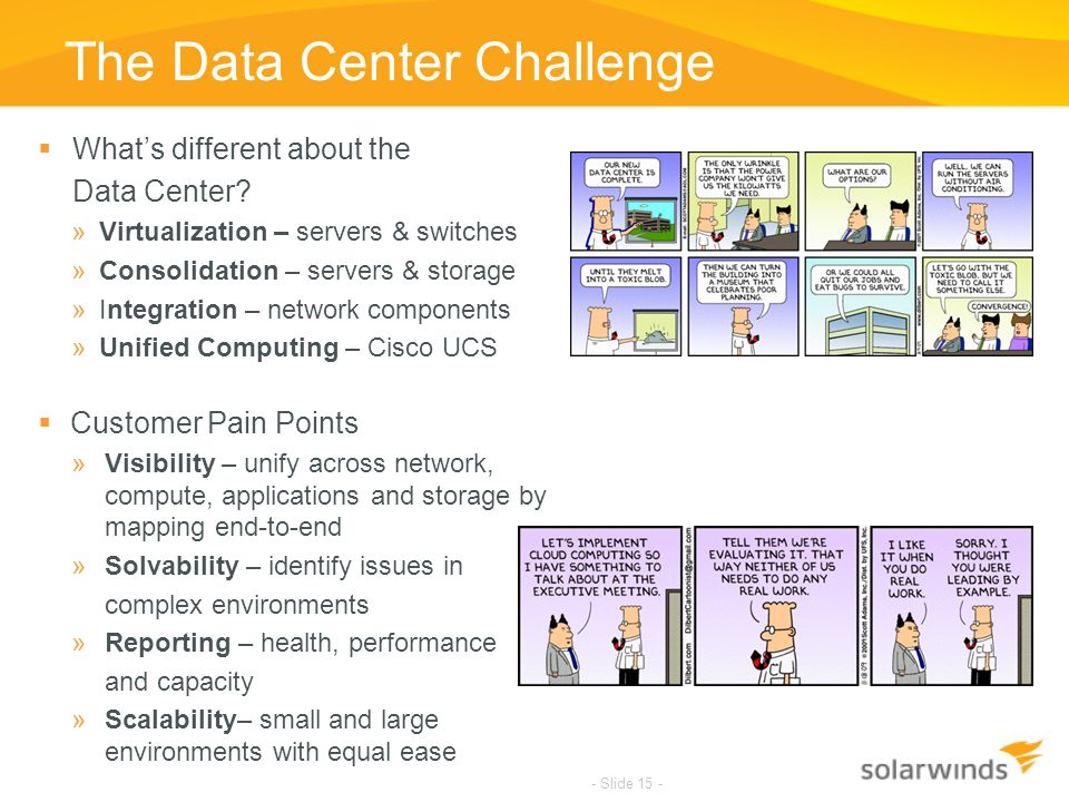 The Data Center Challenge