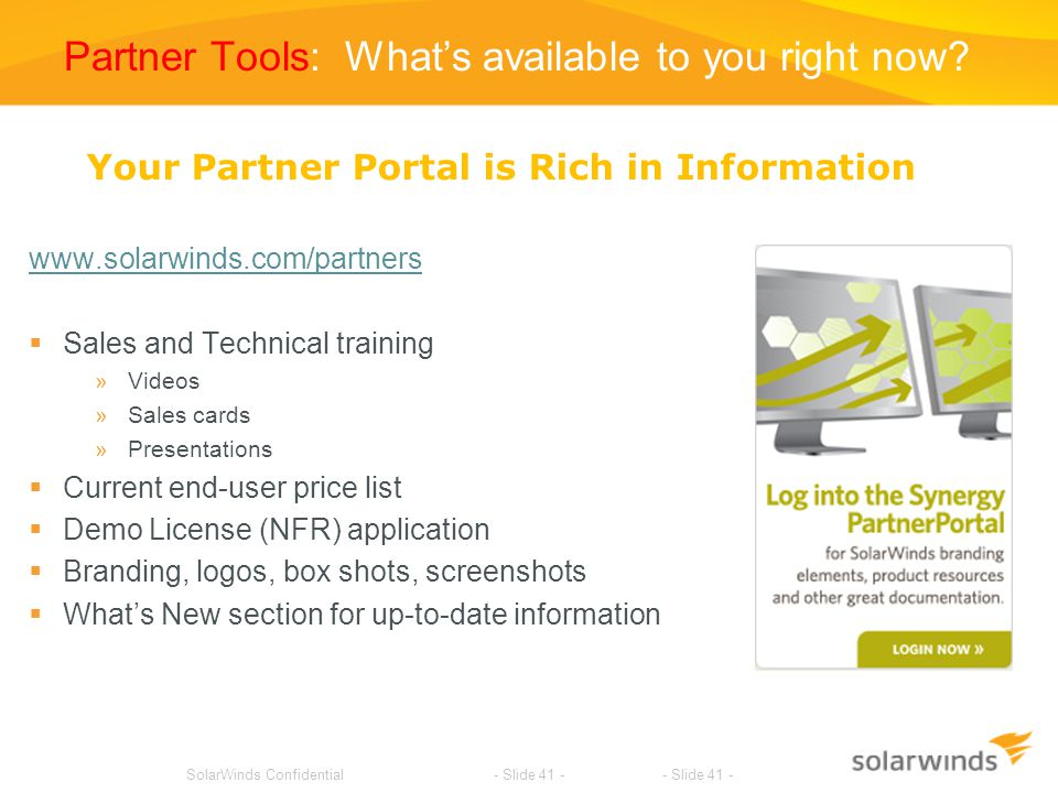 Partner Tools: What's available to you right now