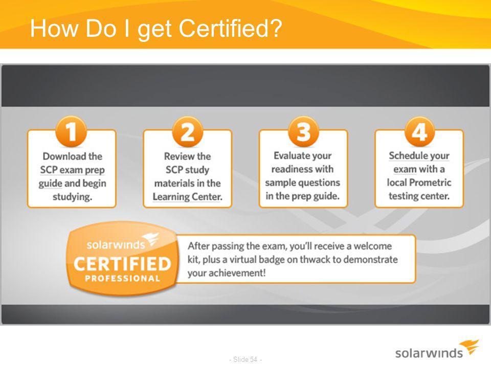 How Do I get Certified
