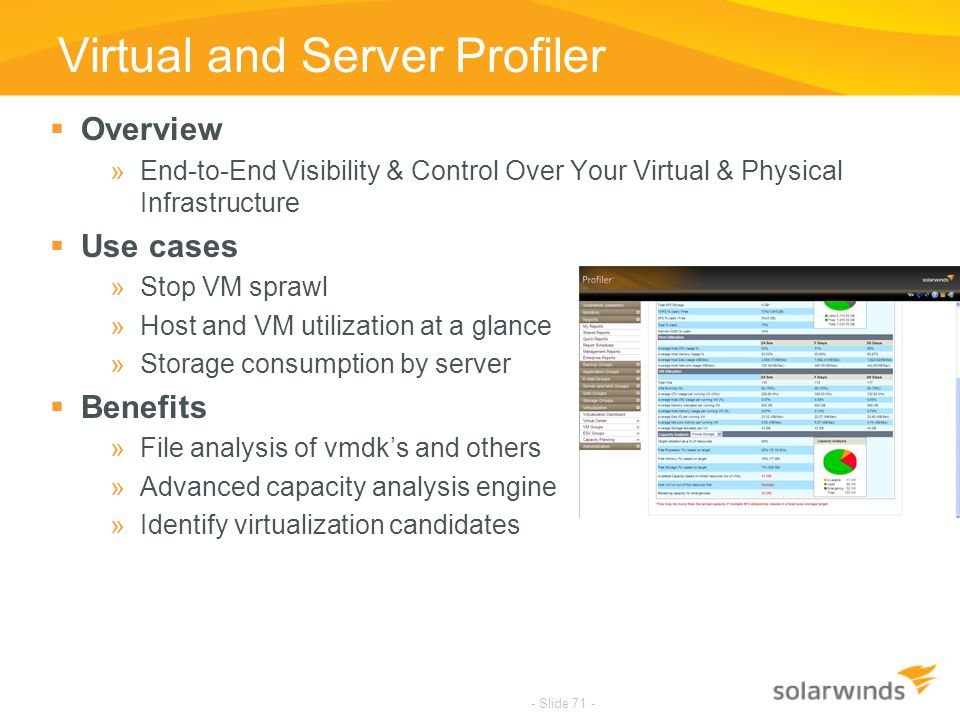 Virtual and Server Profiler