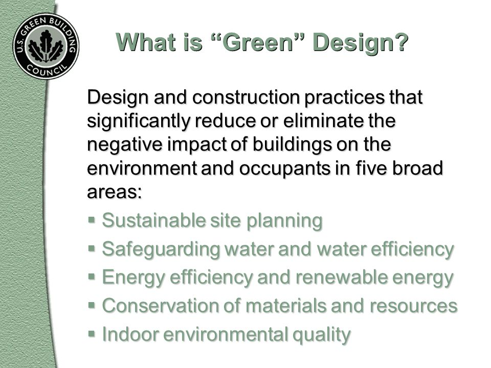 What is Green Design