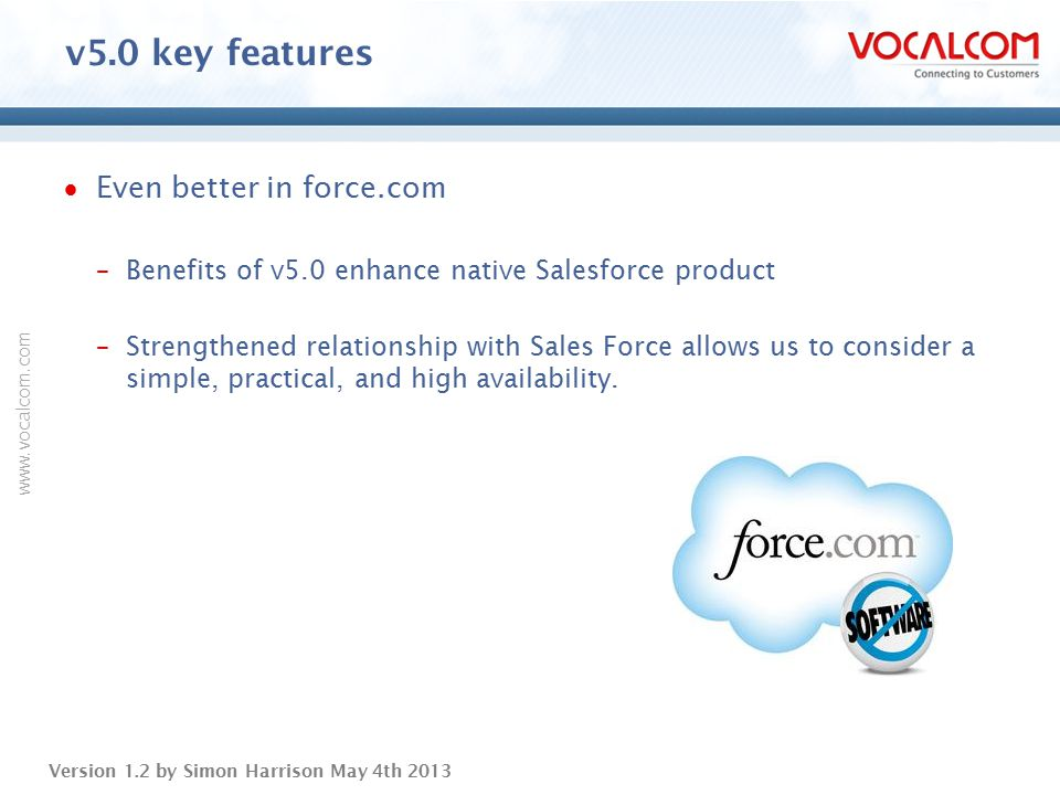 v5.0 key features Even better in force.com