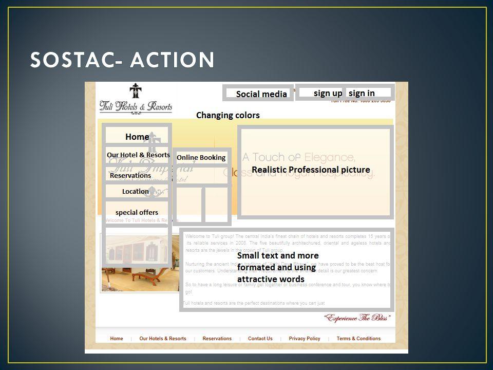 SOSTAC- ACTION