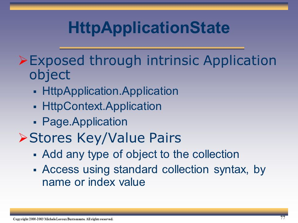 HttpApplicationState