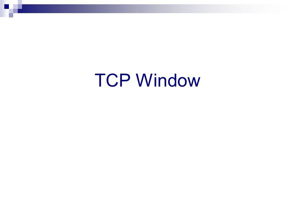 TCP Window