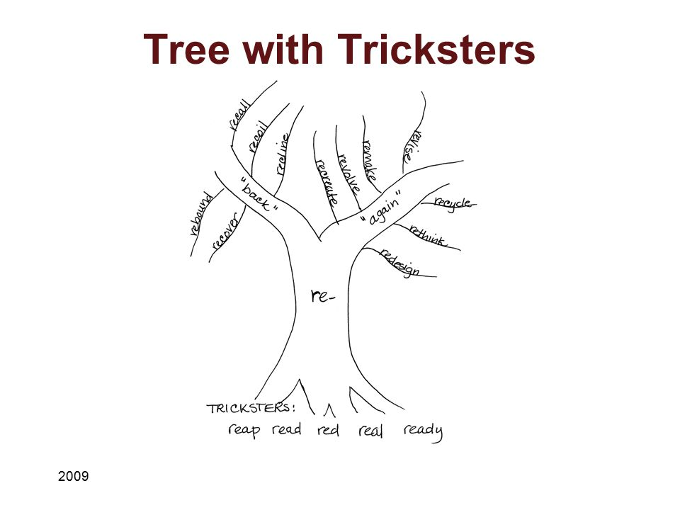 Tree with Tricksters 2009