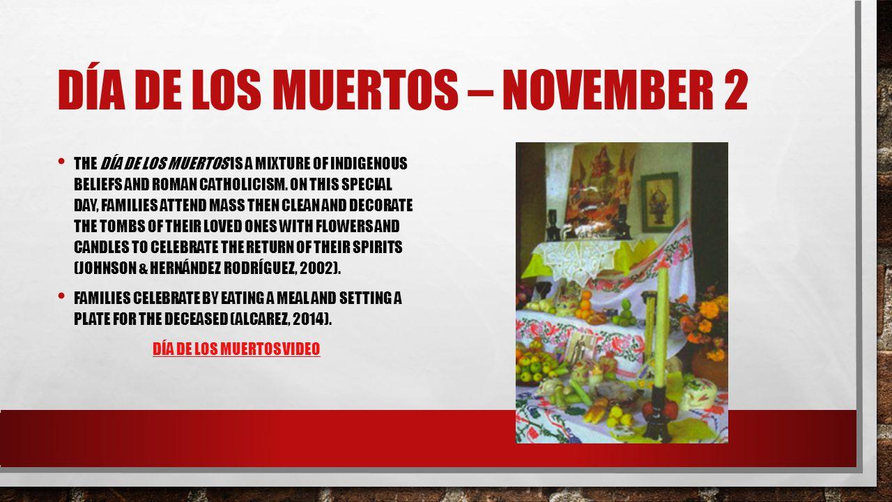 Día de Los Muertos – November 2