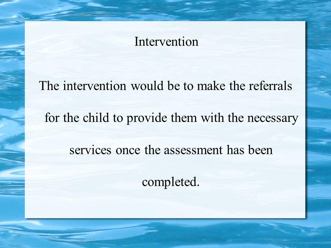 Intervention
