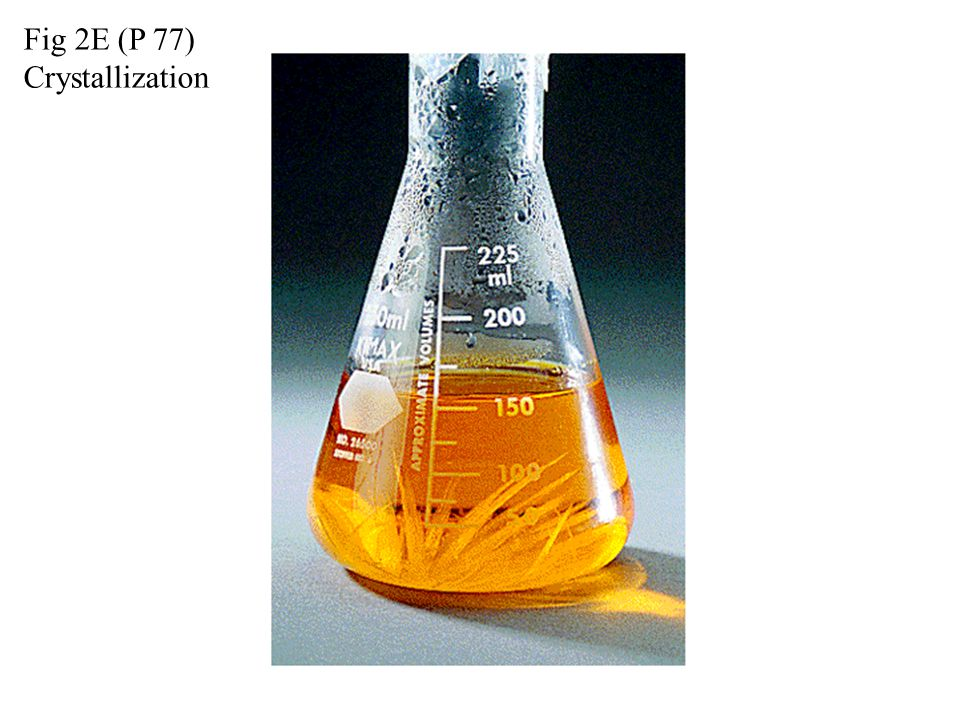 Fig 2E (P 77) Crystallization