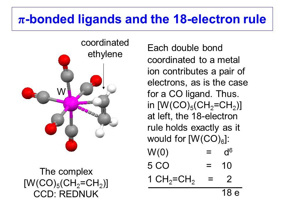 π-bonded ligands and the 18-electron rule
