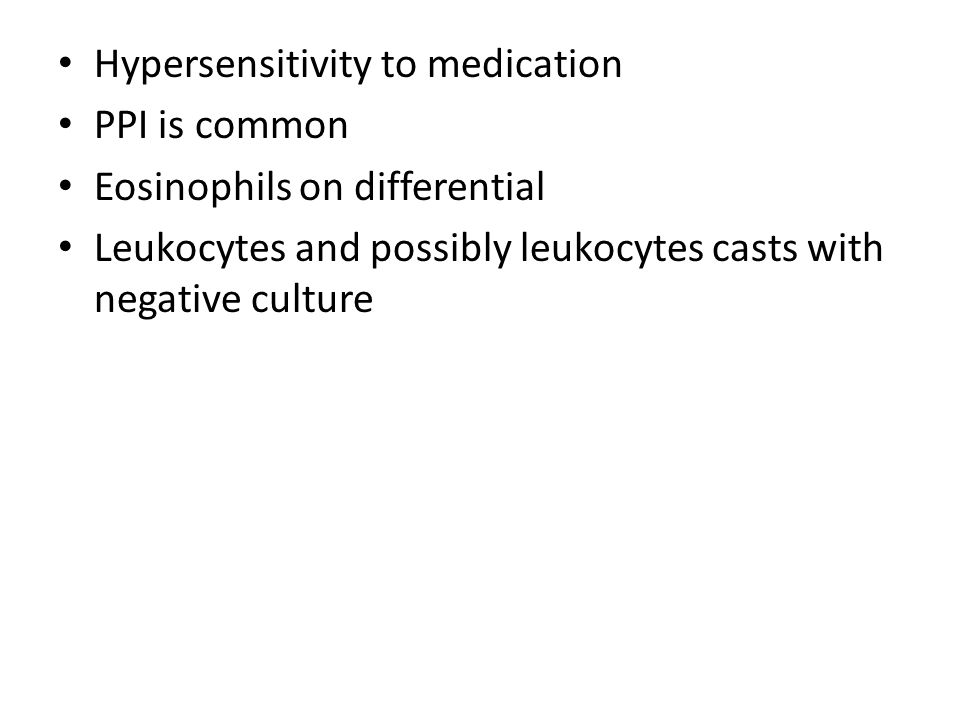 Hypersensitivity to medication