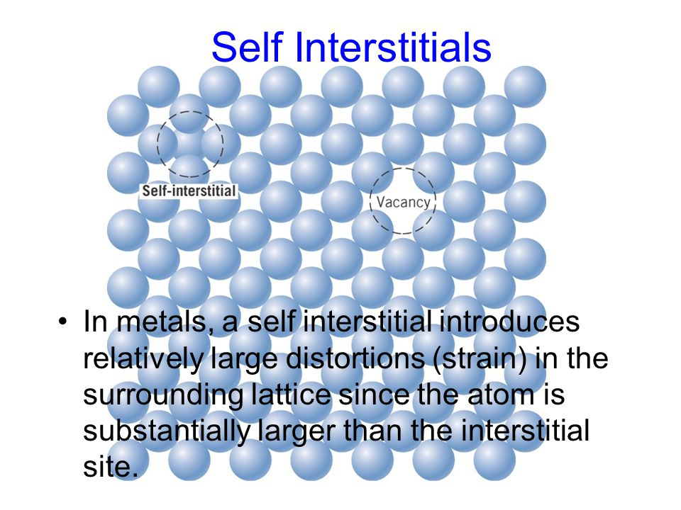 Self Interstitials c05f01.