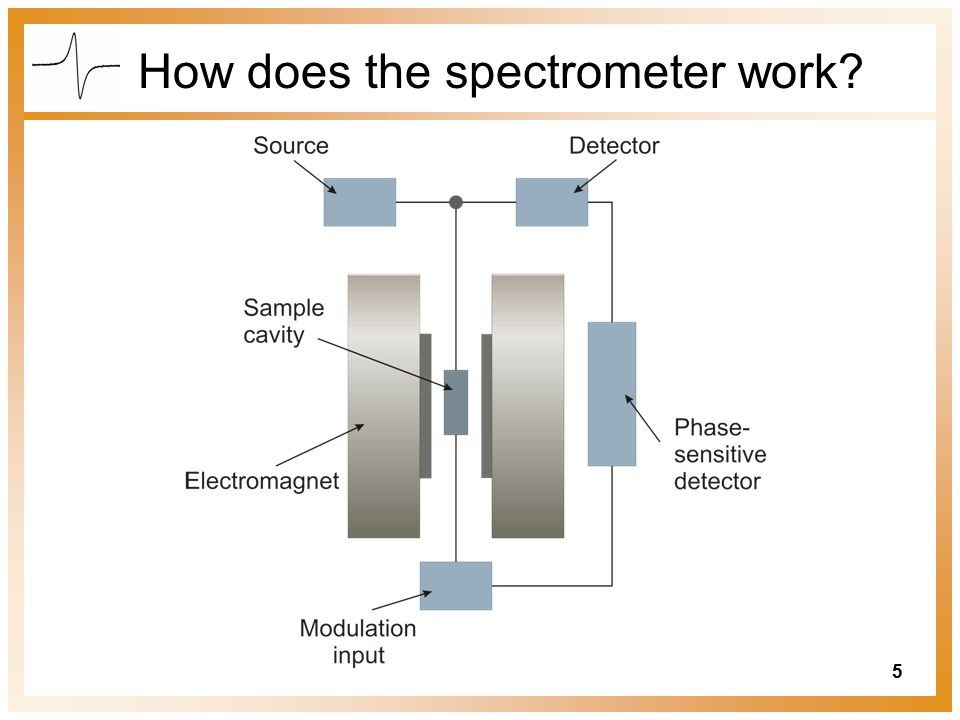 How does the spectrometer work