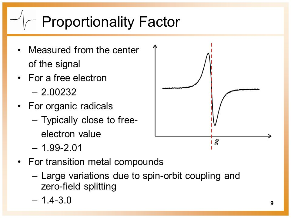 Proportionality Factor
