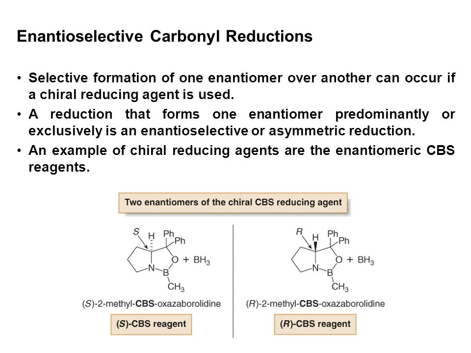 Enantioselective Carbonyl Reductions