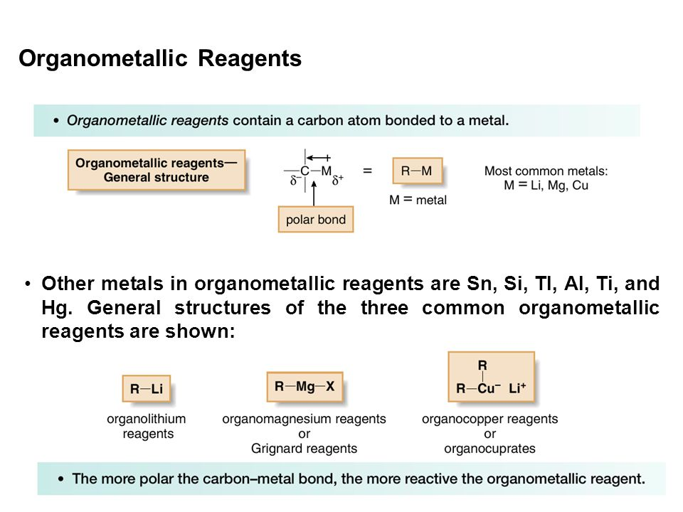Organometallic Reagents