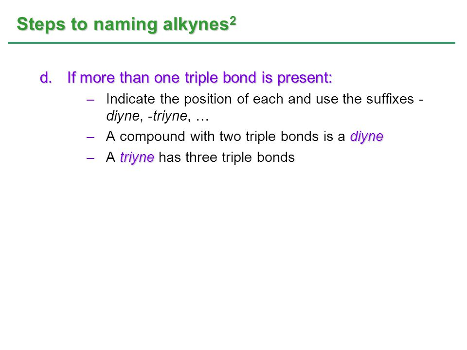 Steps to naming alkynes2