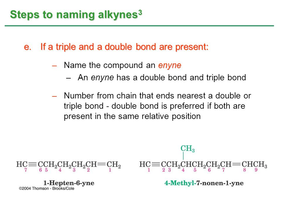 Steps to naming alkynes3