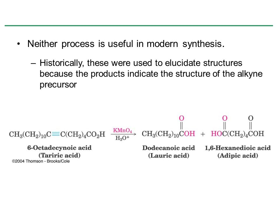 Neither process is useful in modern synthesis.
