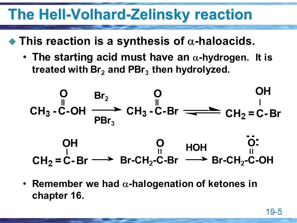 The Hell-Volhard-Zelinsky reaction