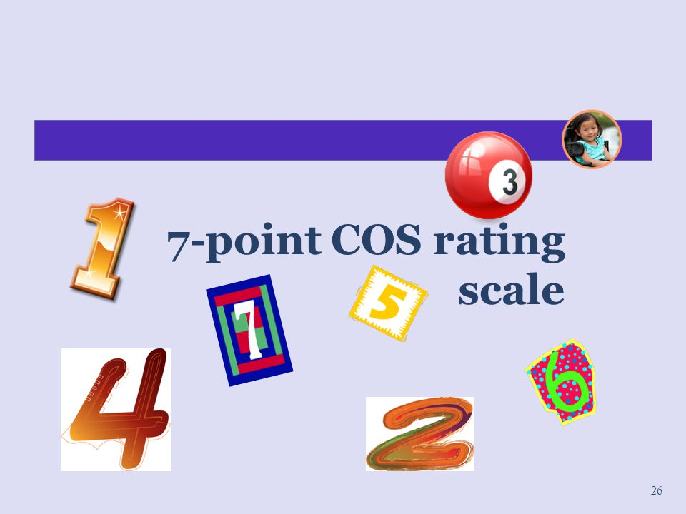 7-point COS rating scale