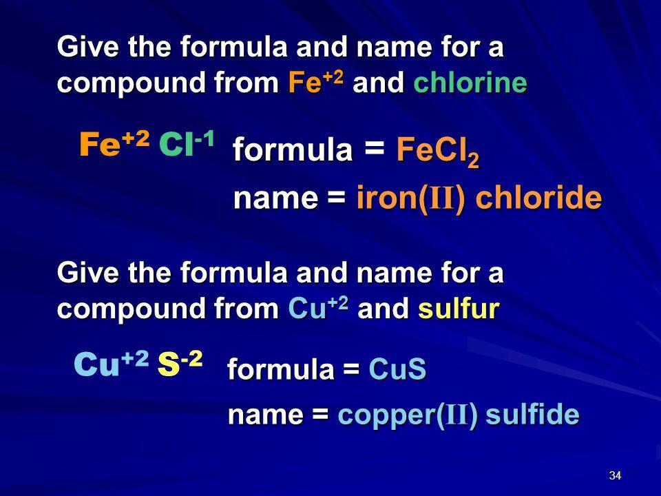 name = iron(II) chloride