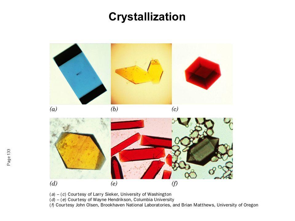 Crystallization Azurin from Pseudomonas aeruginosa