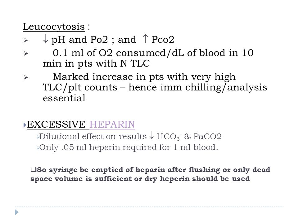0.1 ml of O2 consumed/dL of blood in 10 min in pts with N TLC