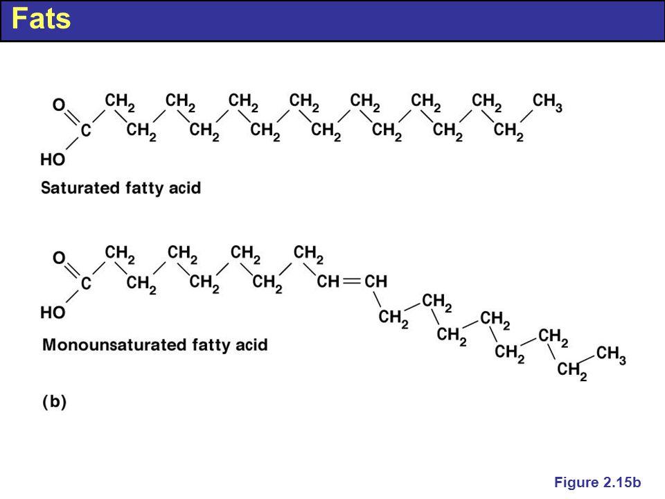 Fats Figure 2.15b