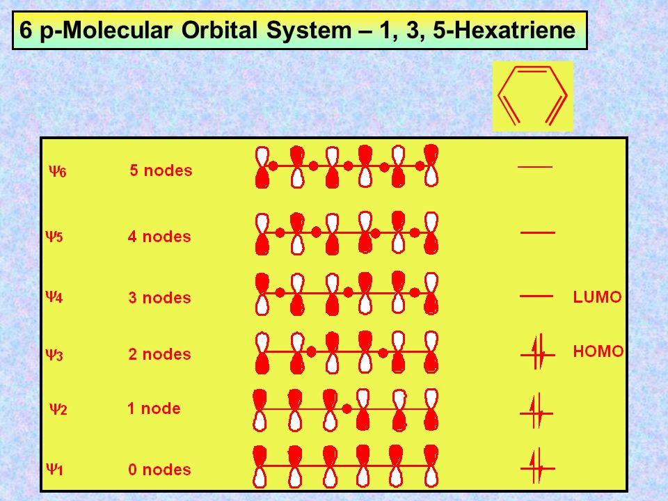 6 p-Molecular Orbital System – 1, 3, 5-Hexatriene