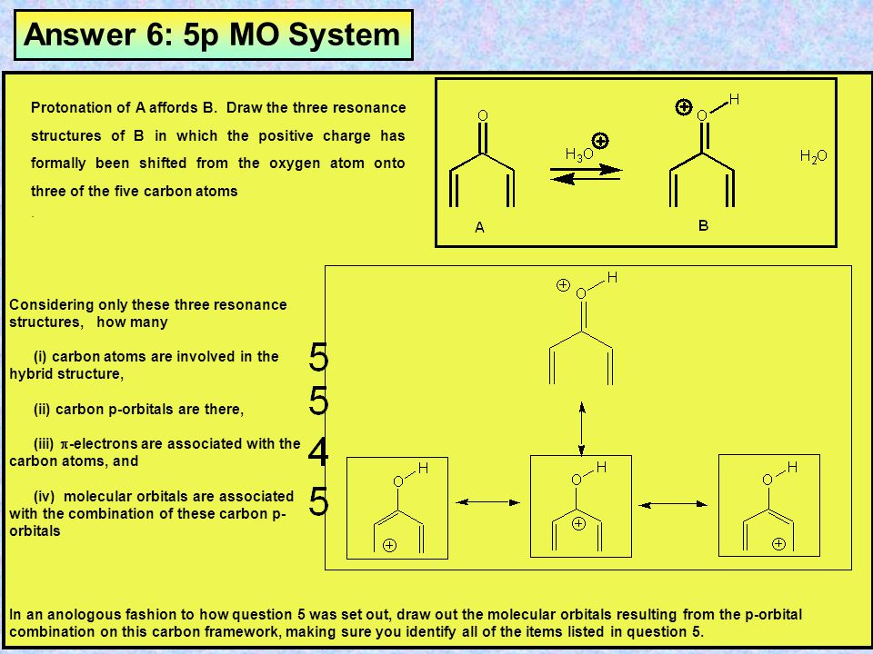 Answer 6: 5p MO System