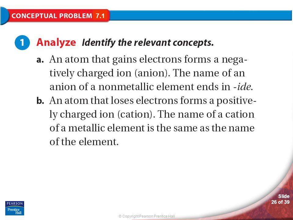 7.1 Conceptual Problem 7.1