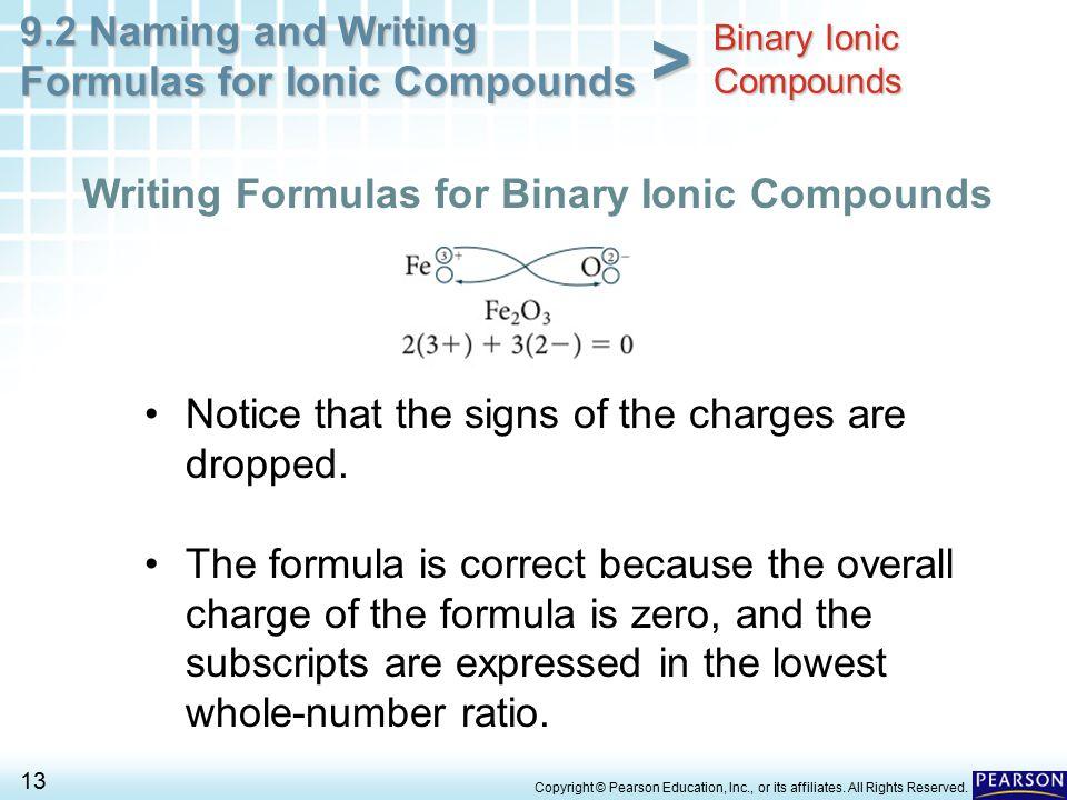 Binary Ionic Compounds