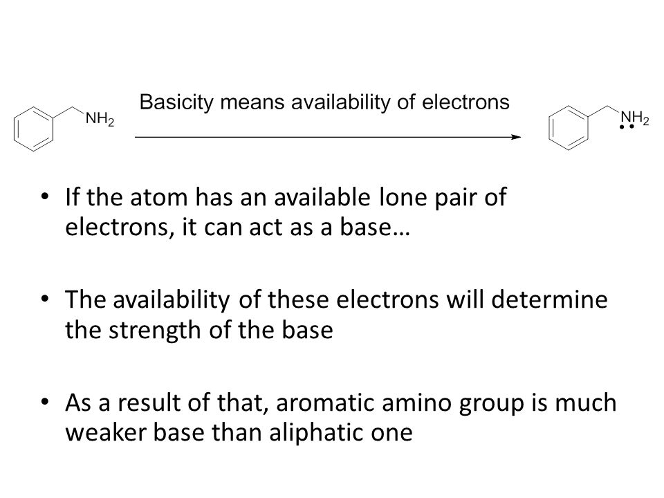 If the atom has an available lone pair of electrons, it can act as a base…