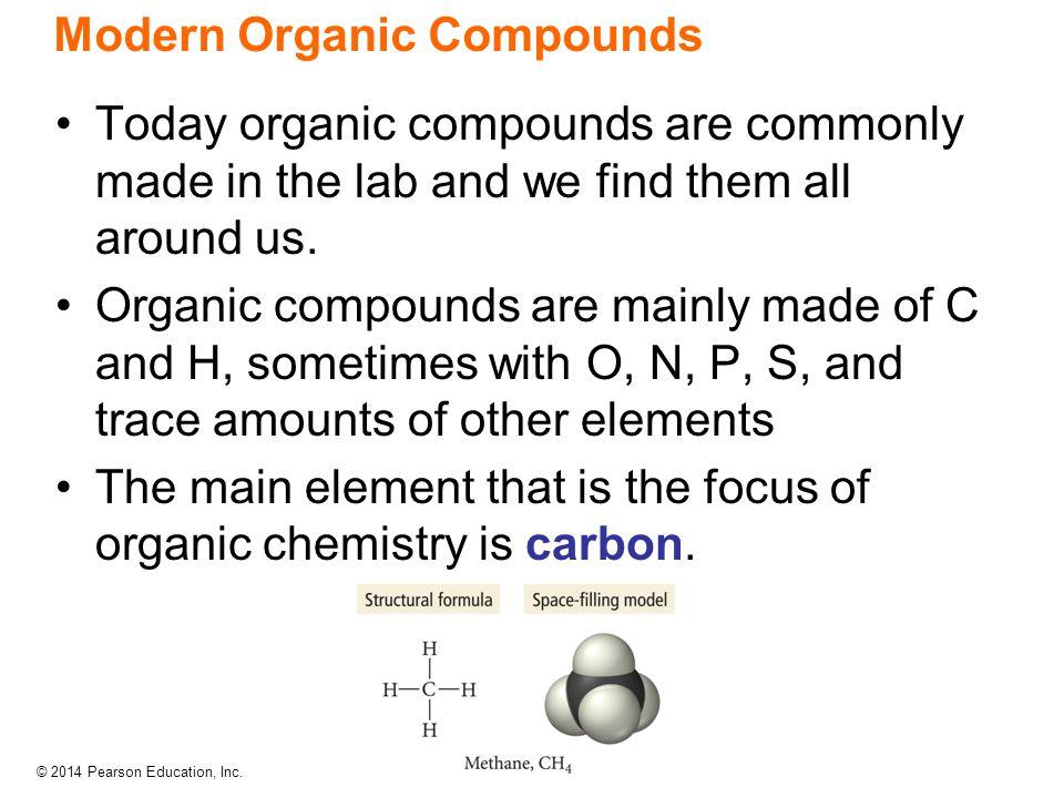 Modern Organic Compounds