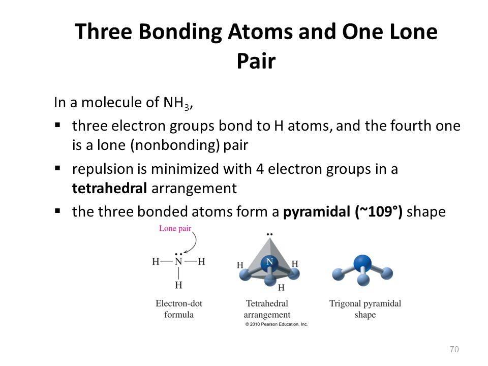 Three Bonding Atoms and One Lone Pair