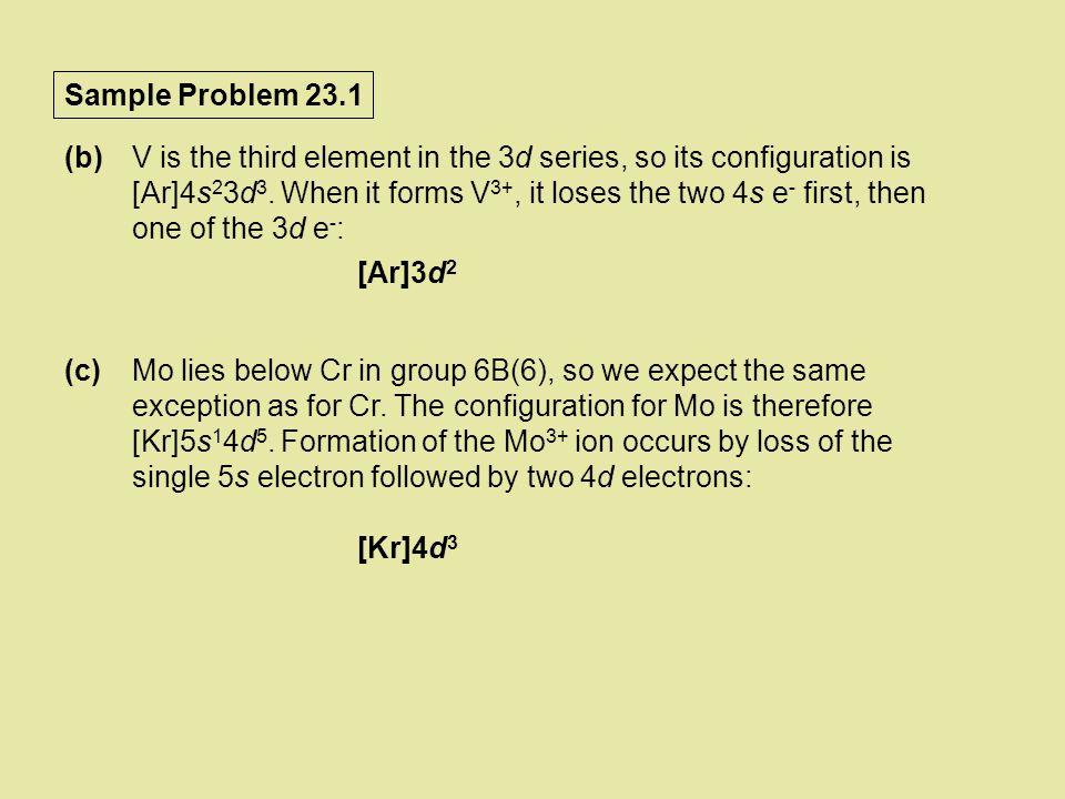 Sample Problem 23.1