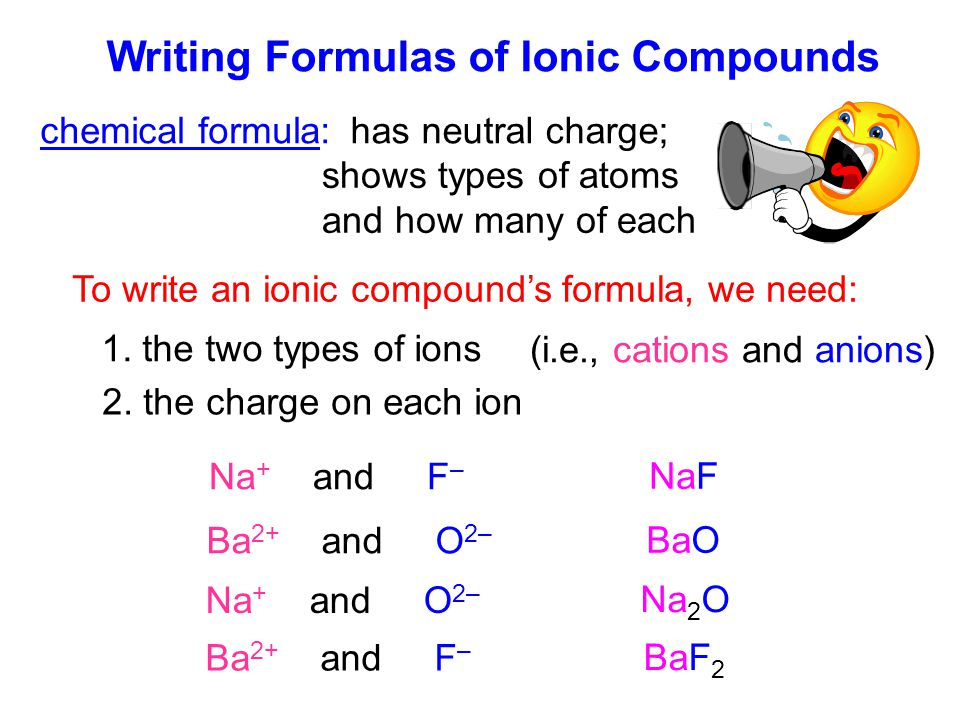 (i.e., cations and anions)