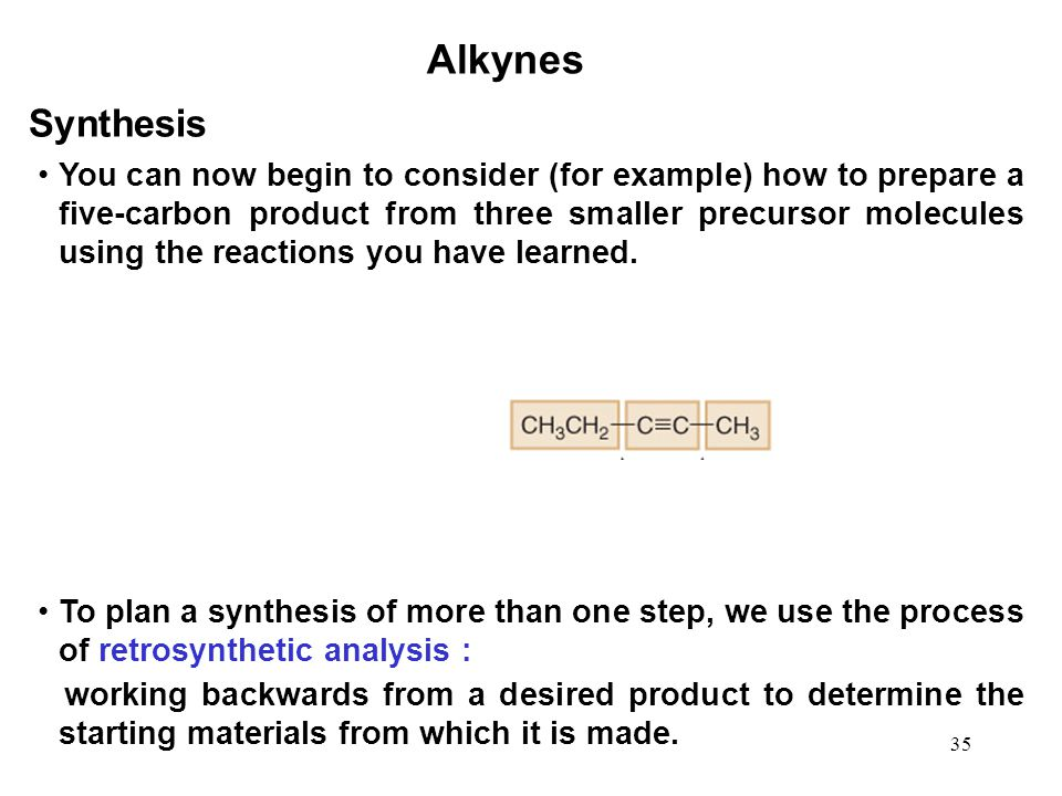 Alkynes Synthesis.