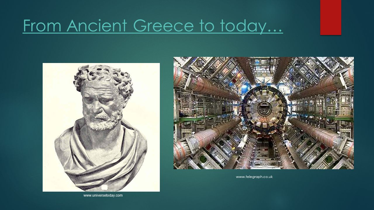 From Ancient Greece to today…