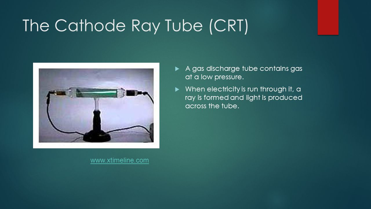 The Cathode Ray Tube (CRT)