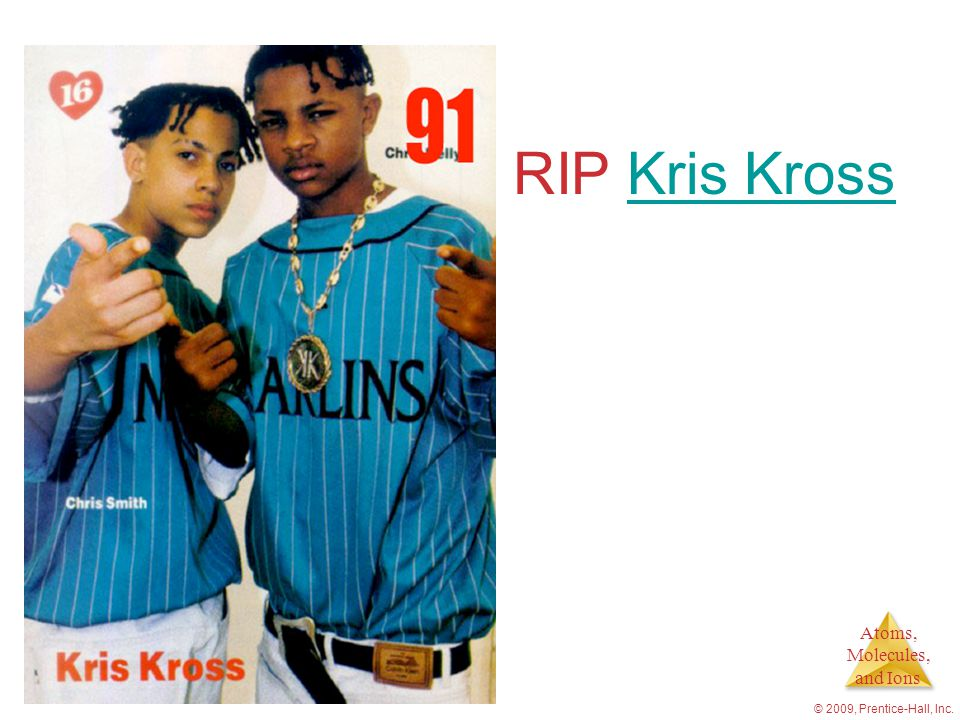 RIP Kris Kross © 2009, Prentice-Hall, Inc.
