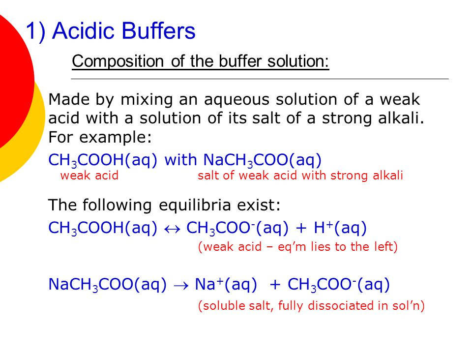 Laboratory 13: Observe the Characteristics of a Buffer Solution