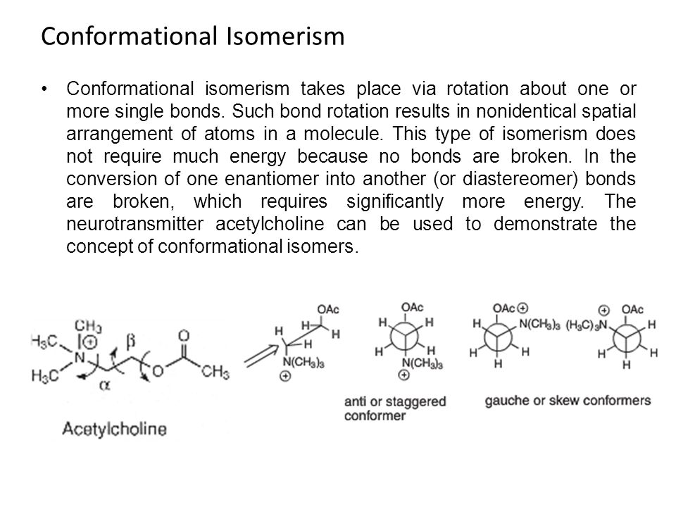 Conformational Isomerism