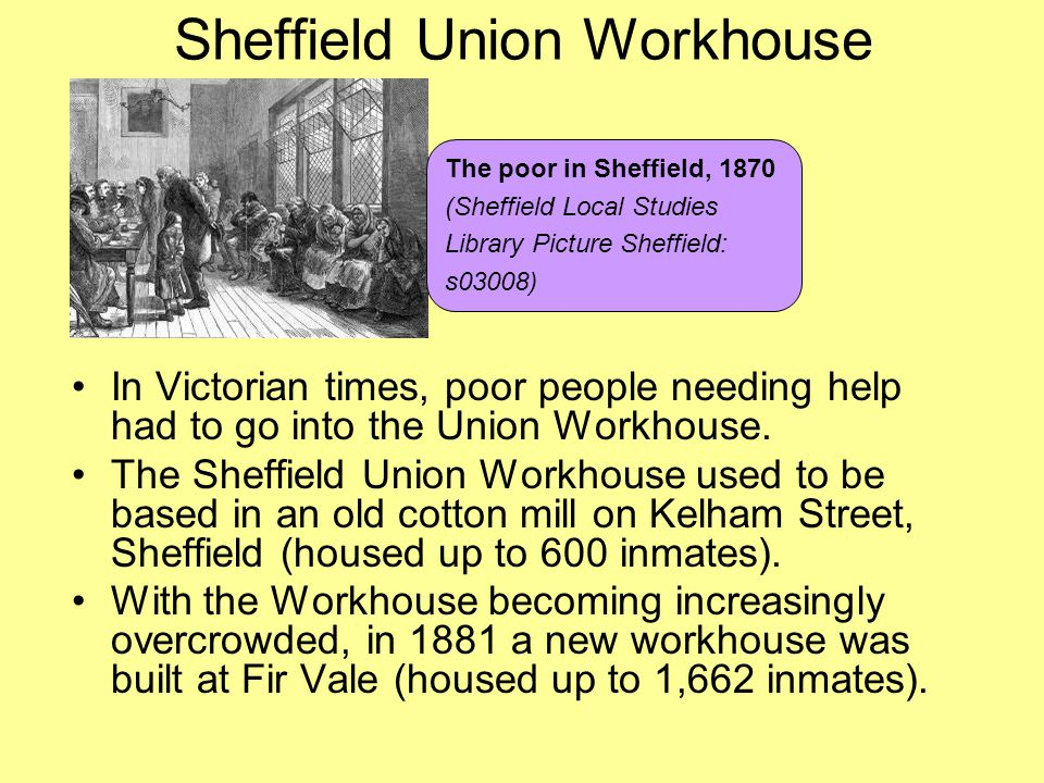 Sheffield Union Workhouse