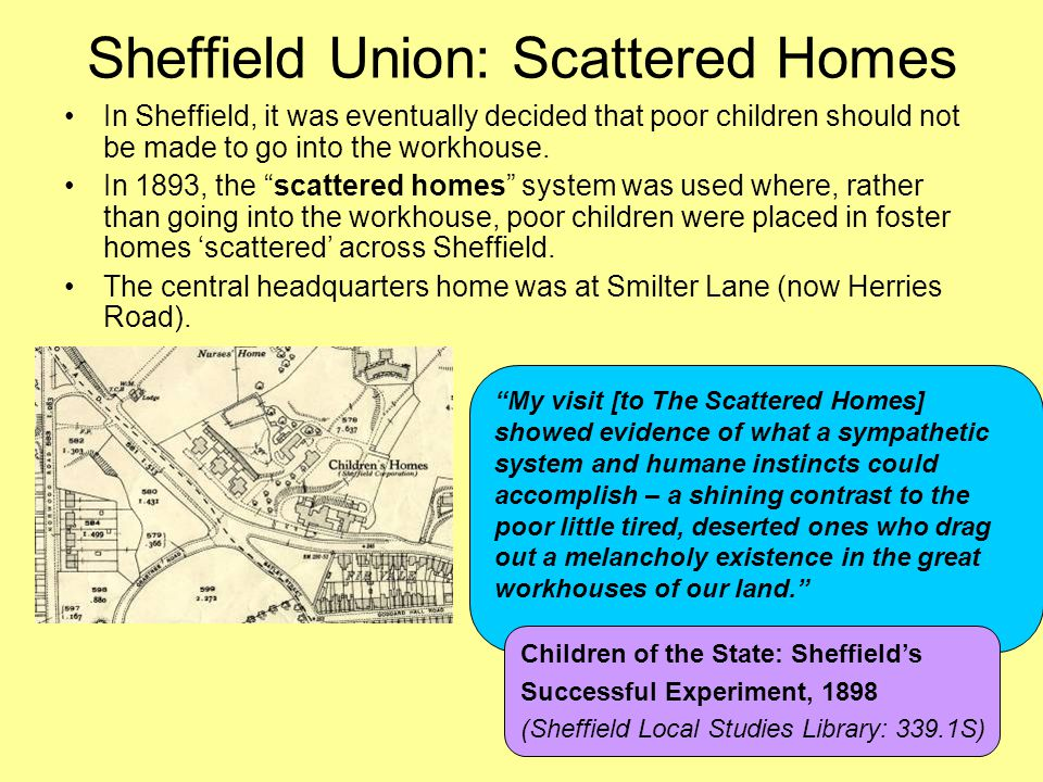 Sheffield Union: Scattered Homes