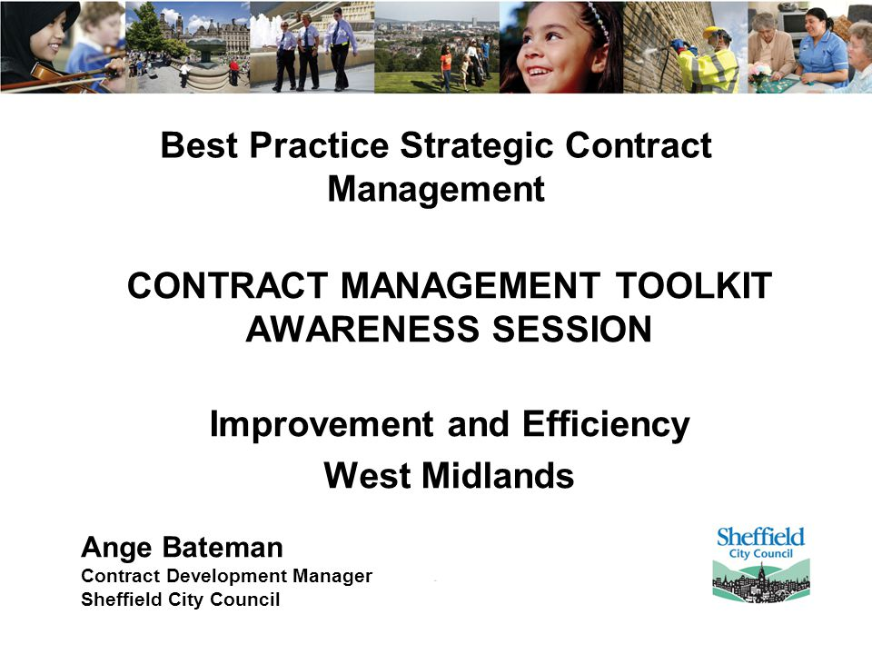 Best Practice Strategic Contract Management