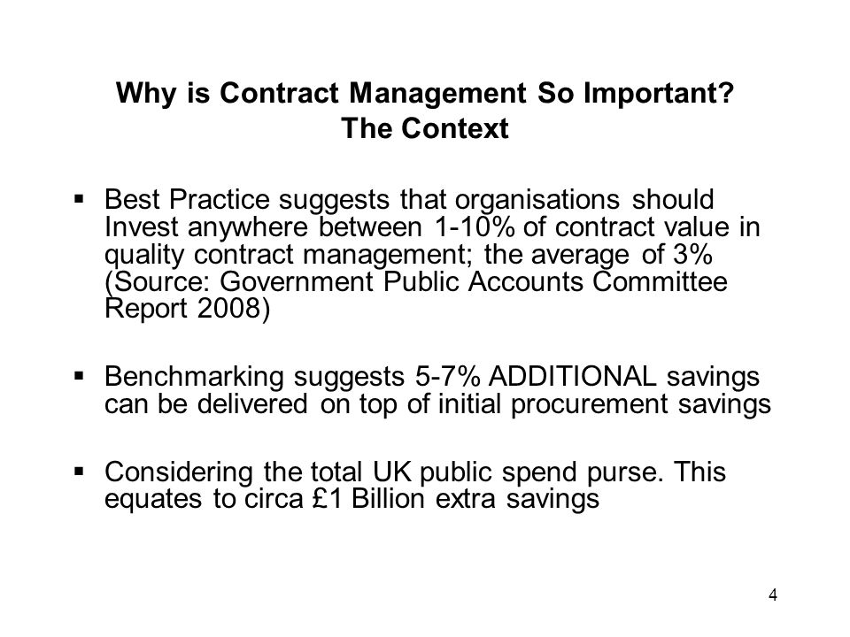 Why is Contract Management So Important The Context